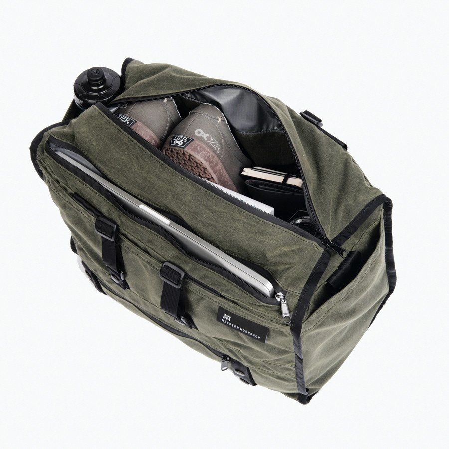 a9906caca494 The Transit   Duffle - Waxed Canvas - MISSION WORKSHOP ...