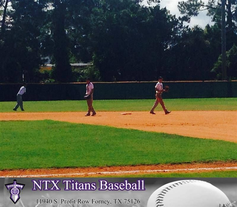 The NTX Titans White play in the USSSA Global World Series