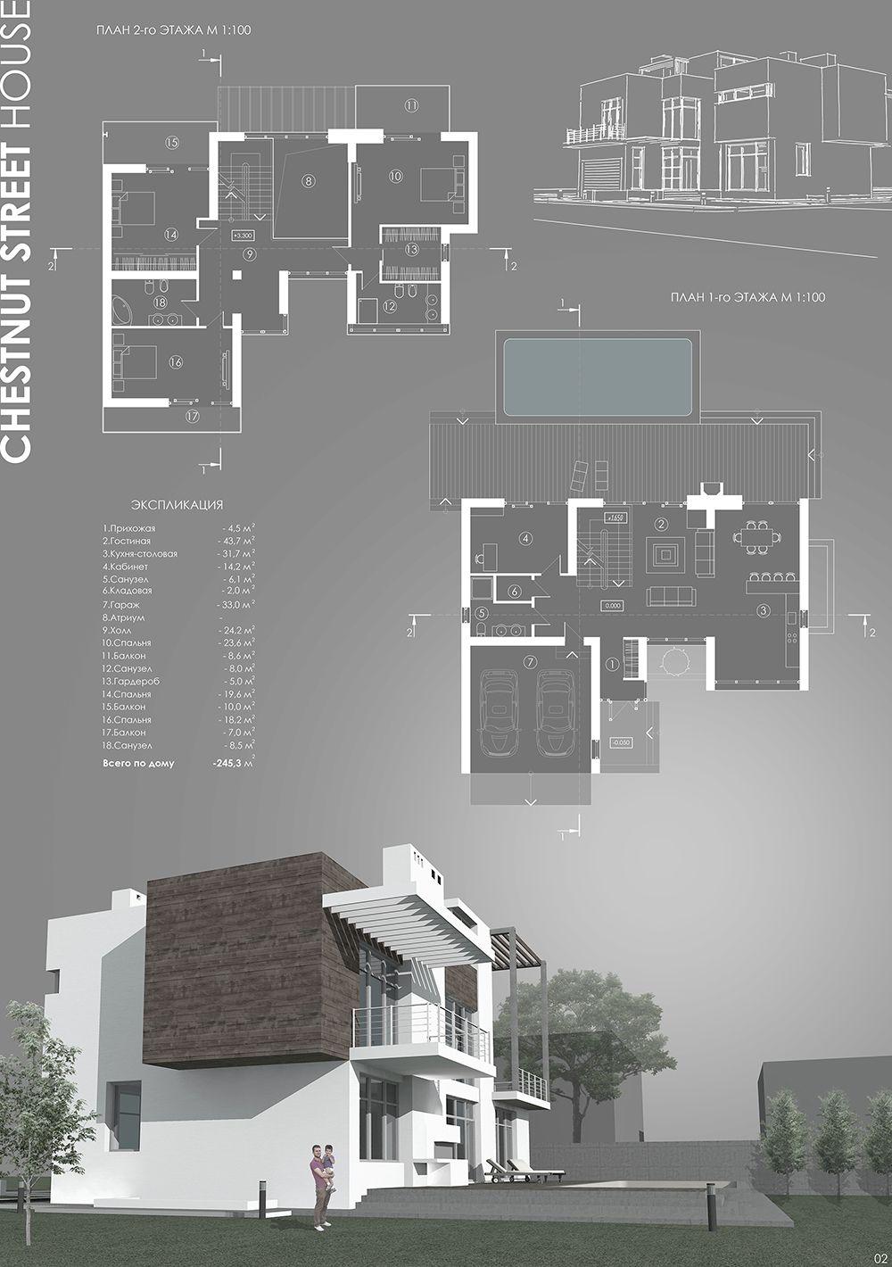 Chestnut Street House | PostScriptum | Architettura | Pinterest ...