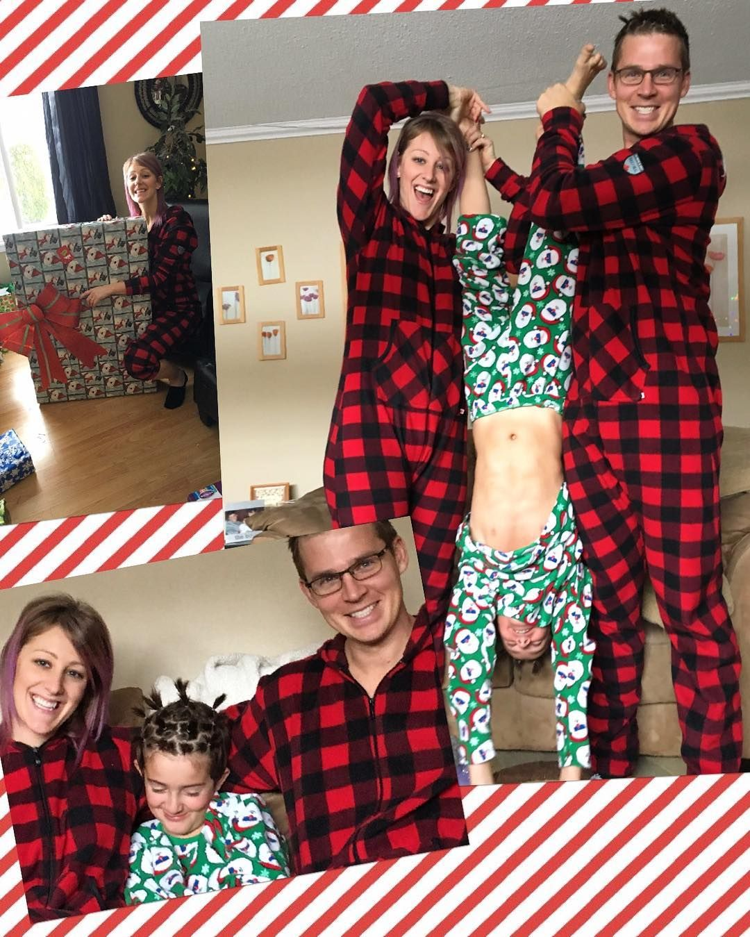 Families have more fun when they wear Canada plaid
