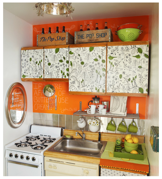 What A Great Use Of Color To Pop A Tiny Kitchen I Believe. Kitchen Floor Black And White Tiles. Kitchen Furniture Vadodara. Zimbokitchen Black Forest. Yellow And Brown Kitchen. J Shaped Kitchen Layout. The Old Kitchen Northampton. Kitchen Lifestyle Photography. Kitchen Interior Website
