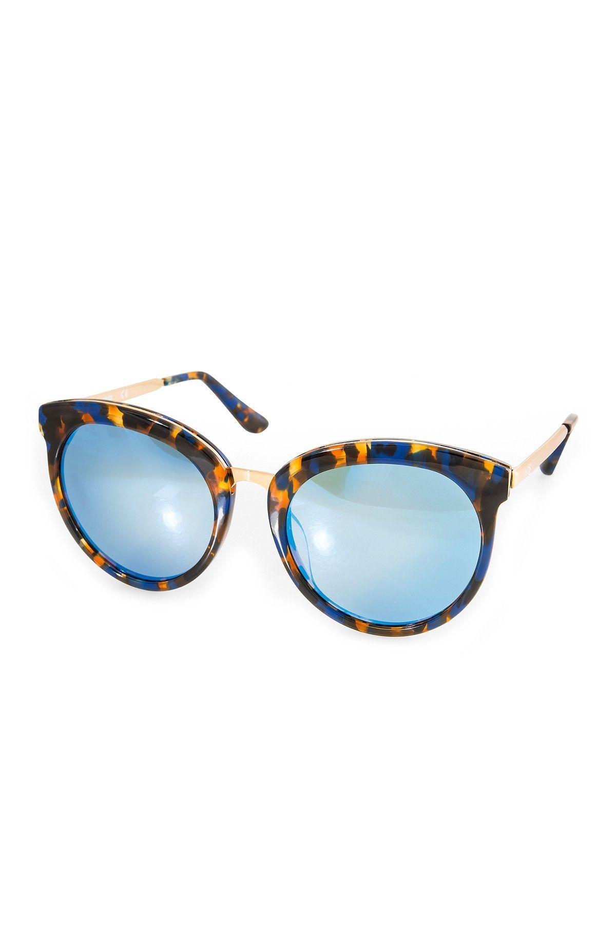 AQS Sunglasses | Women's Poppy Round Sunglasses | Nordstrom Rack