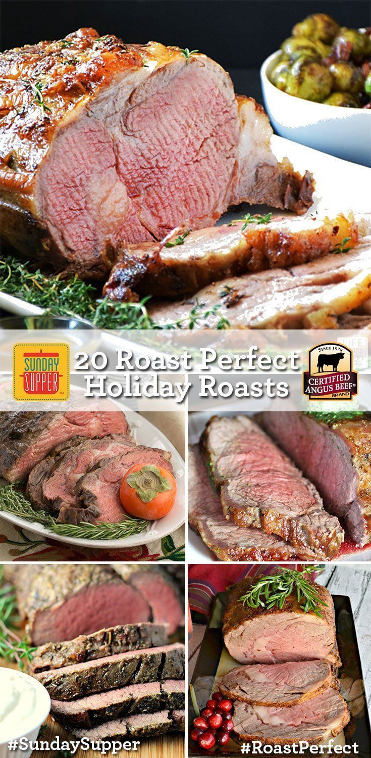 20 Holiday Roasts Sundaysupper Download The Certangusbeef