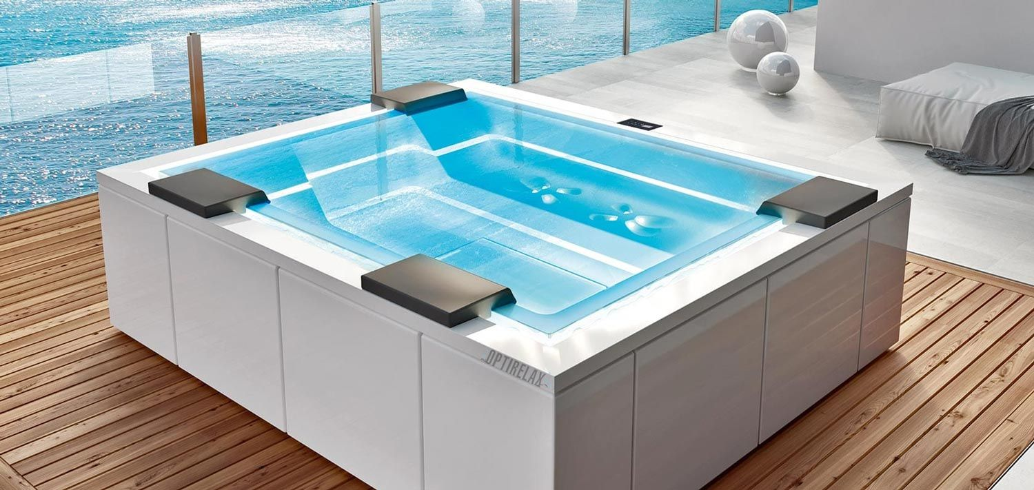 Whirlpool Outdoor OPTIRELAX® Spa Whirlpools für aussen