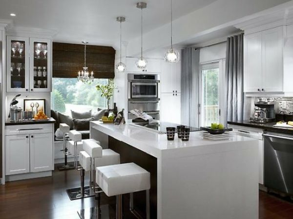 Lot central cuisine ikea et autres l 39 espace de cuisson for Cuisine ikea blanc laque