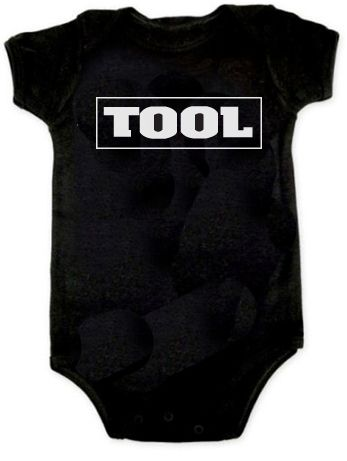 950c63a2d9ff Tool Retro Undertow Band Onesie Romper Baby 3-24 Month