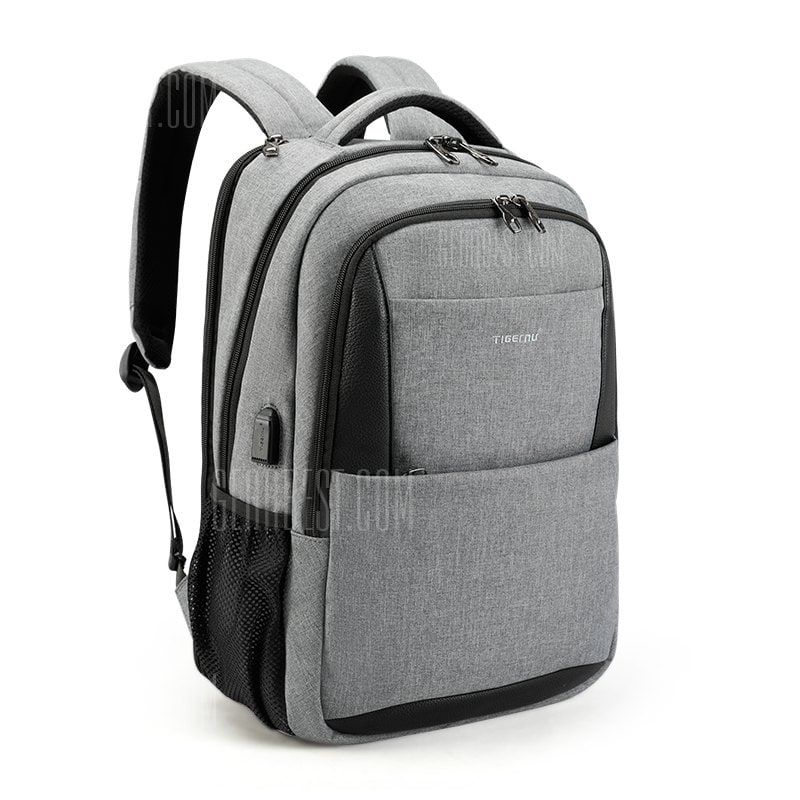 85af751a3d86 Only  39.18,buy 2018 Tigernu Brand New Design Male Mochila 15.6 Anti-theft  laptop backpack USB Charging Backpack waterproof Schoolbag at GearBest  Store ...