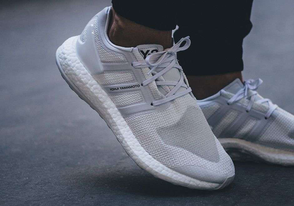"""The adidas Y-3 Pure Boost """"Triple White"""