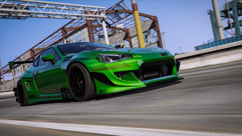 Rocket Bunny V3 BRZ [Add-On] - GTA5-Mods com | Mase's car