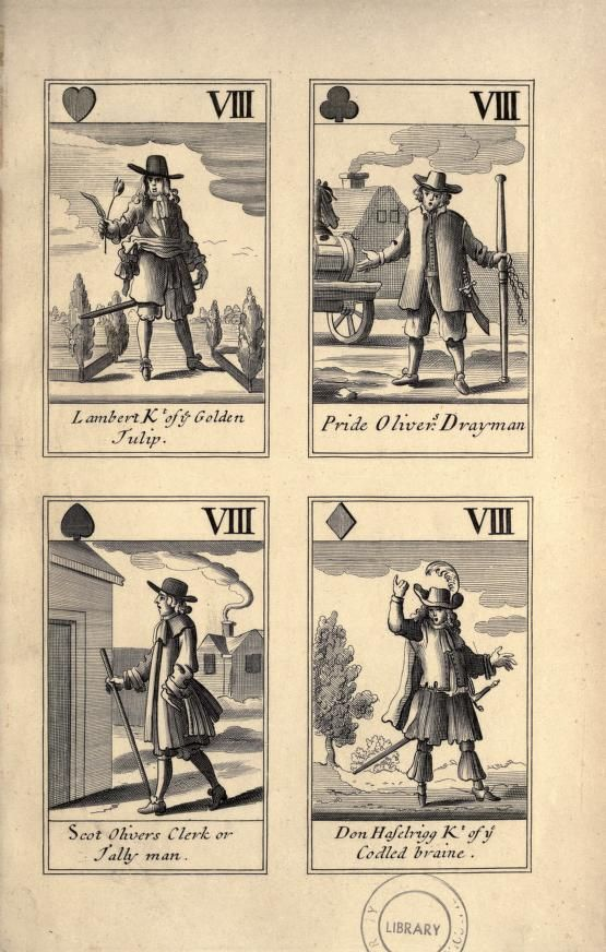 Explanatory notes of a pack of Cavalier playing cards, temp. Charles II. forming a complete political satire of the commonwealth (1886)