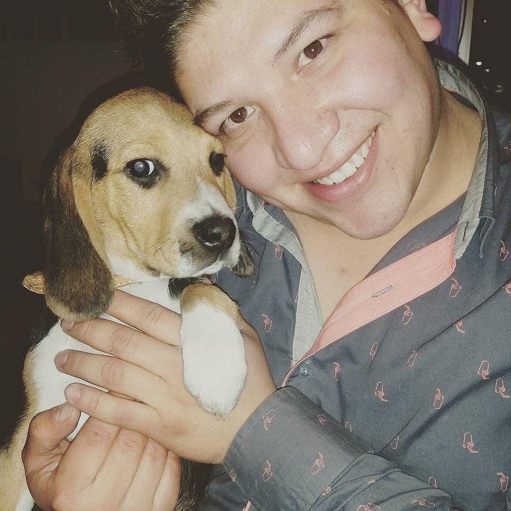 My human dady! #handsomedog #100%amor