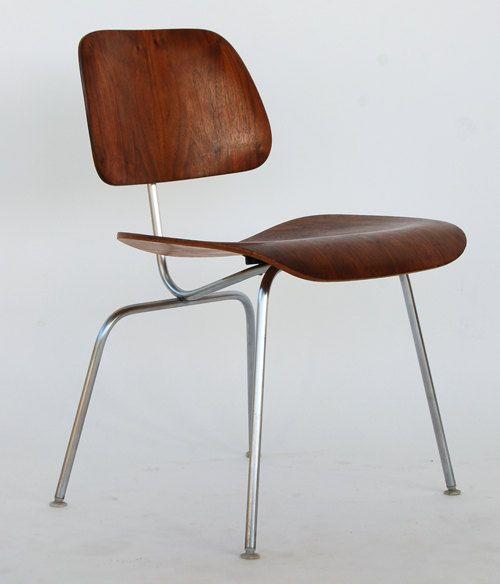 Eames For Herman Miller Vintage Walnut Dcm Molded Plywood Dining