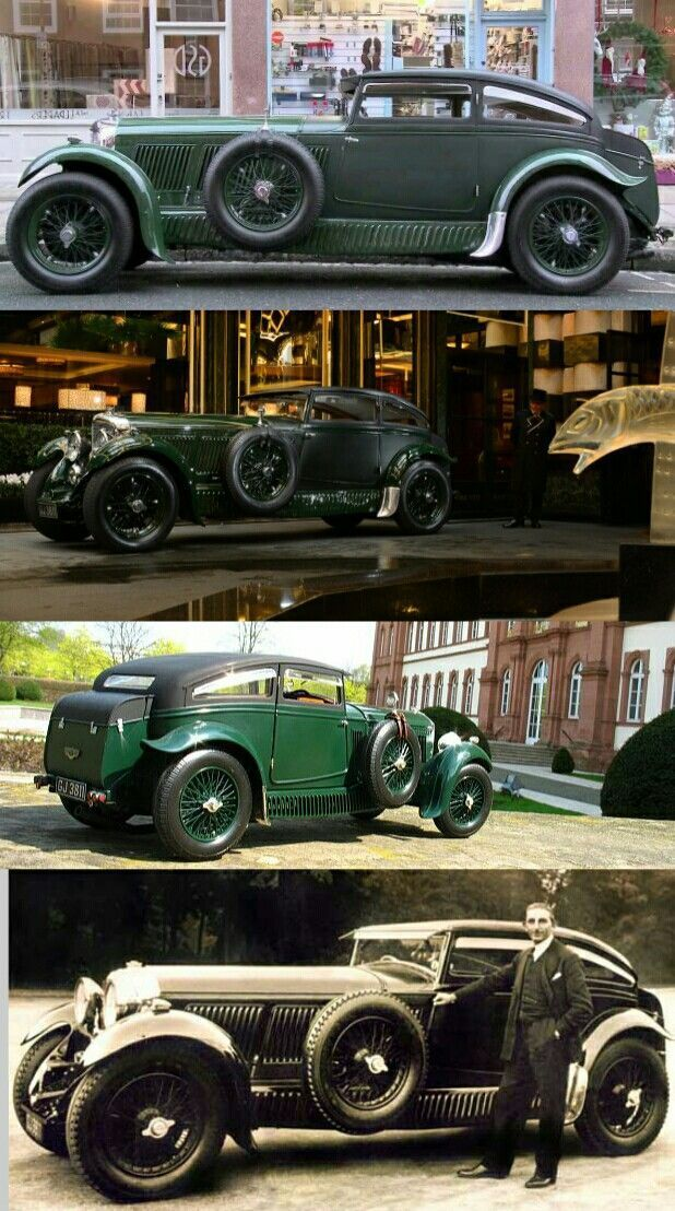 1930 Bentley Speed 6 Blue Train Special. This is pry my favorite Bentley and a… – Luxury Brand Car