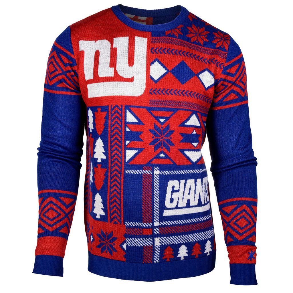 New York Giants Ugly Christmas Sweater | Ugly Christmas Sweater ...