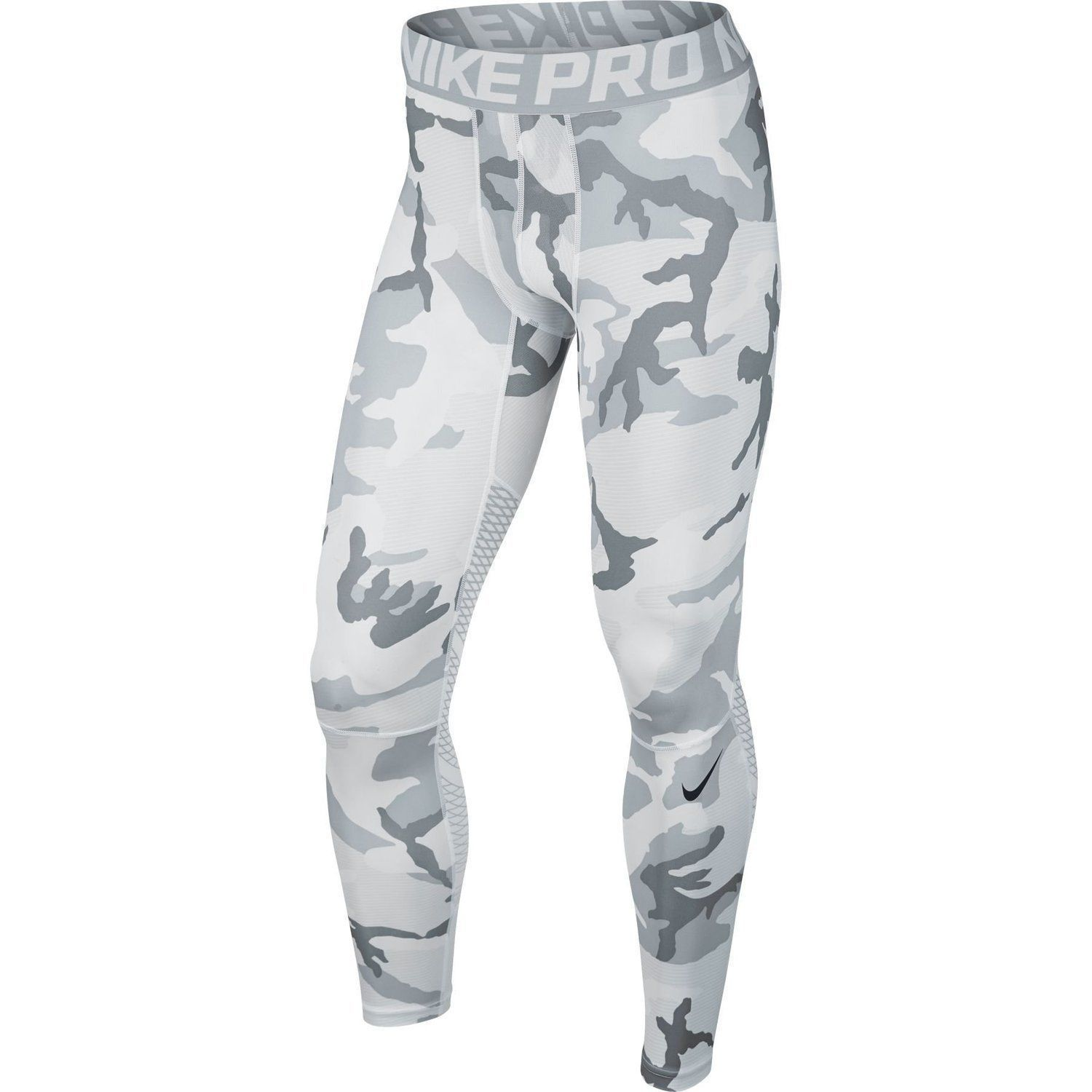 2ee4134a8f246 NIKE PRO HYPERCOOL COMPRESSION TIGHTS 801227 100 MENS XL WHITE GREY CAMO NWT