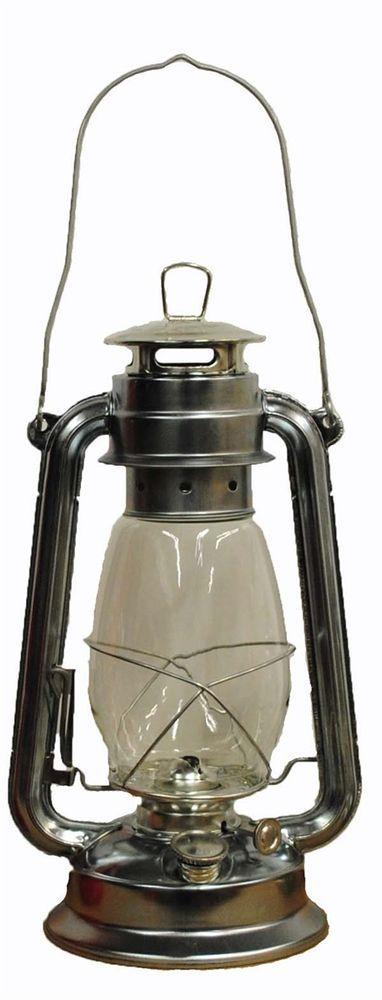 Silver Hurricane Kerosene Oil Lantern Emergency Hanging Light / Lamp - 12 Inches #Shop4Omni