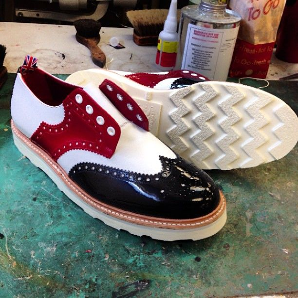Church's golf shoes resoled With our