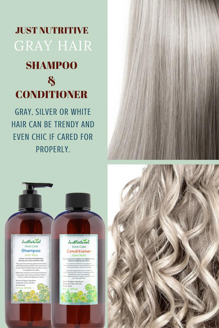 Gray Hair Nutritive Shampoo Gray Hair Shampoo Just