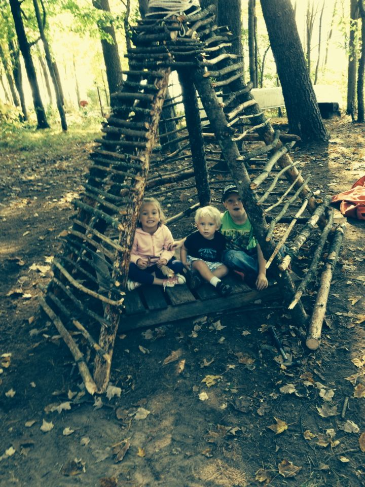 Teepee Branches Sticks And Nail It Together Natural Playground Teepee Outdoor Cat Playground Outdoor