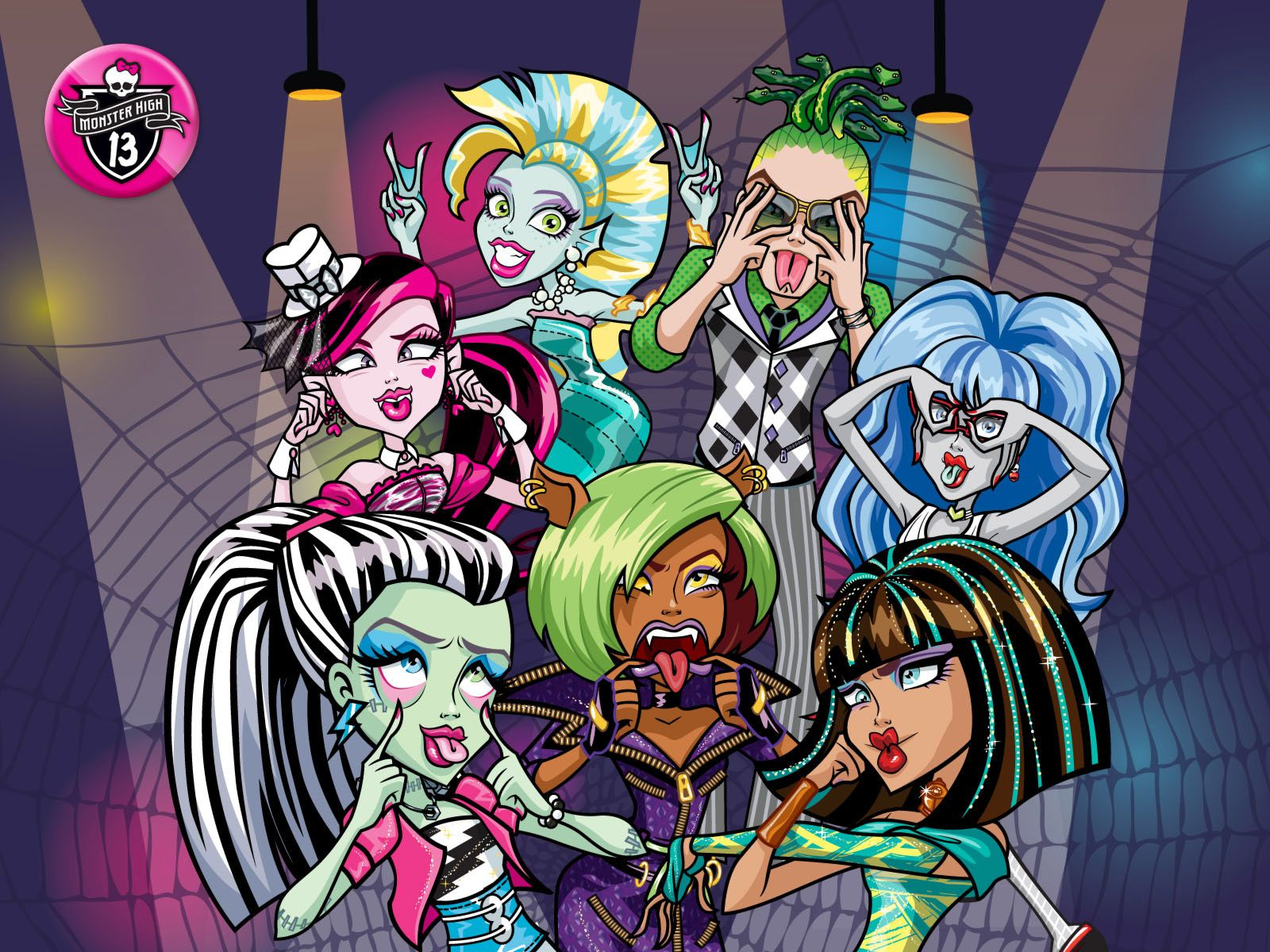 Fondos De Pantalla De Monster High: Monster High-Pretty Feliz 2013: Nuevos
