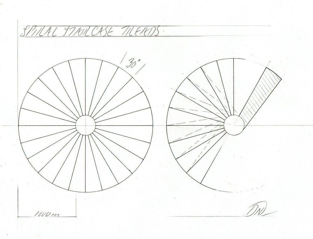 Spiral Staircase Plan. U0027