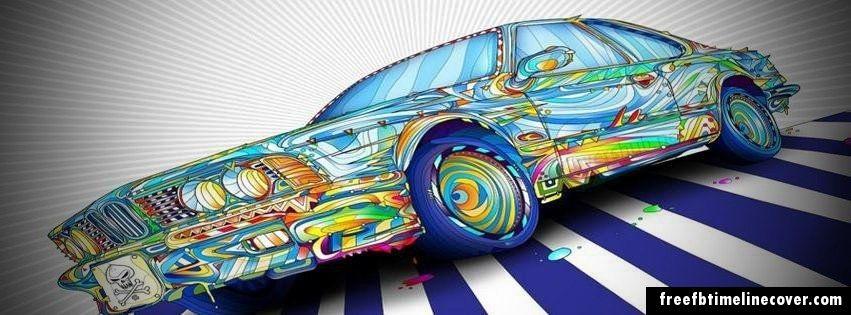 Funky Car Graffiti Wallpaper Graphic Wallpaper Ipad Air Wallpaper