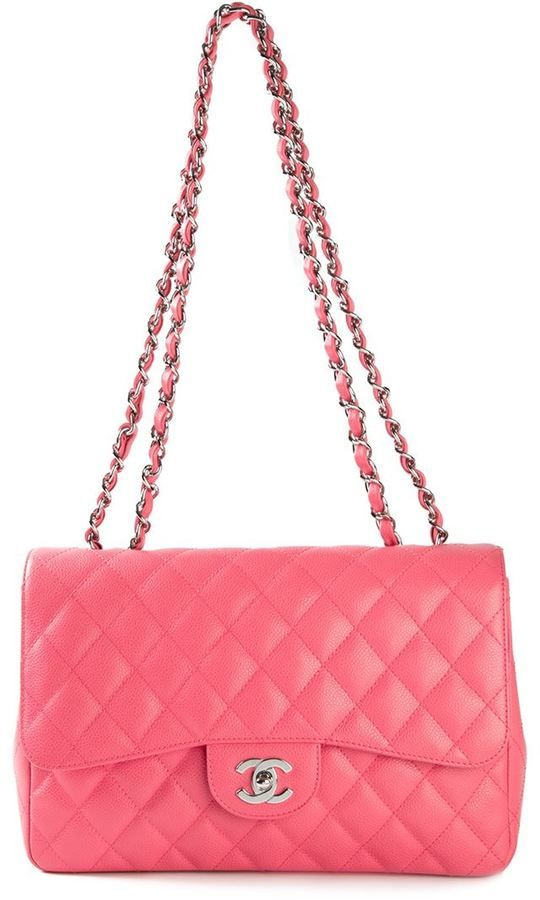 e52caa6cdeff Pin by BabyAngie Lam on Bags | Pink chanel bag, Chanel handbags, Bags