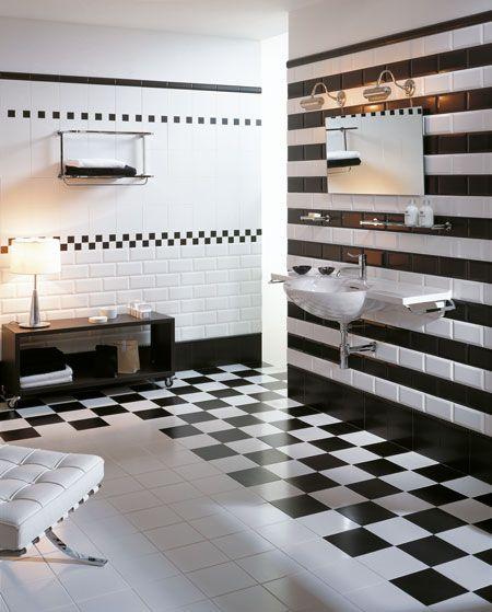 No 901 Traditional Black White Combination Salle De Bain Noir Et Blanc Idee Salle De Bain Et Carreaux Noir Et Blanc