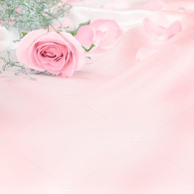 Soft Rose Pink Background Com Imagens Fundo Para Texto Panos