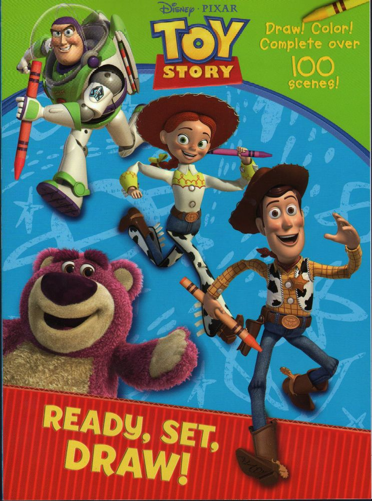 Toy Story HOW TO DRAW Coloring BOOK New DISNEY Finish Pictures ART - new coloring book pages toy story