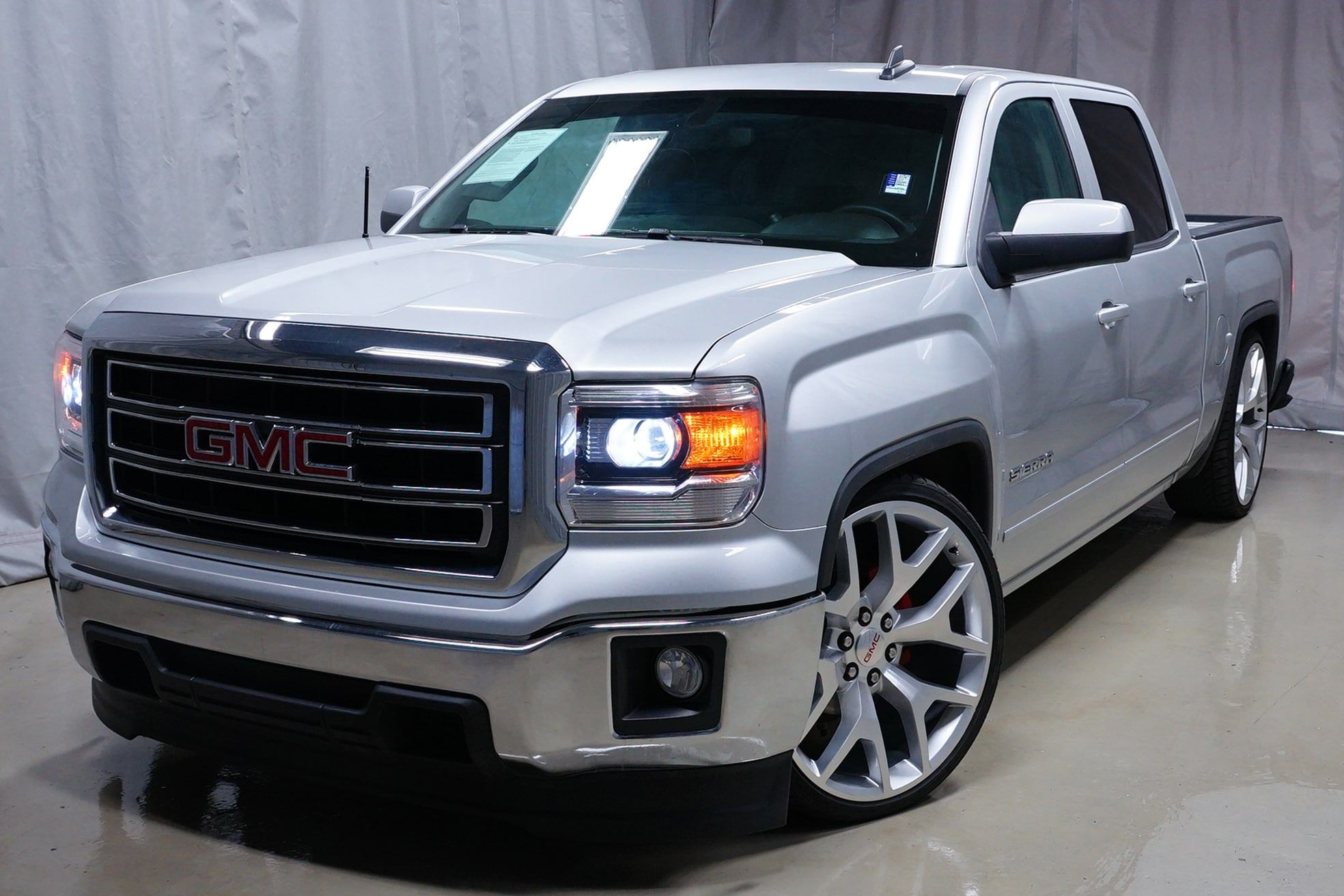 Custom Lowered One Owner Free Carfax 2015 Gmc Sierra 1500