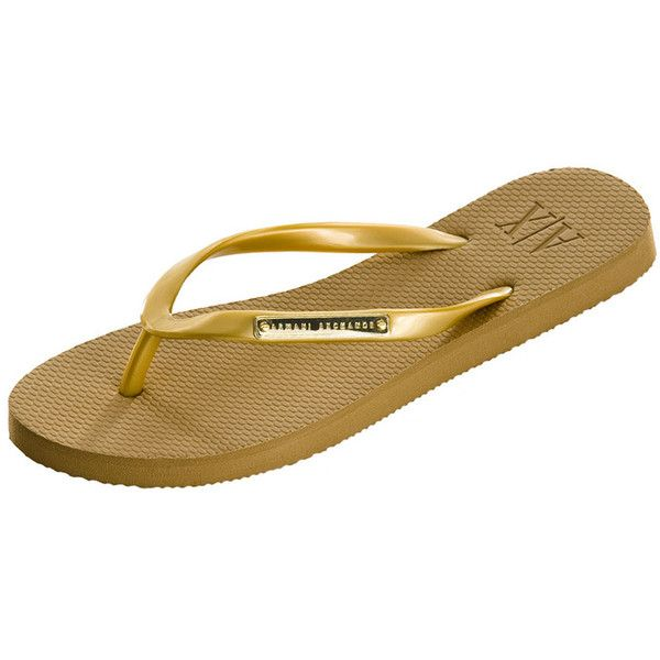 0502ecdfff6 Armani Exchange Logo Plate Flip Flop ( 15) ❤ liked on Polyvore featuring  shoes