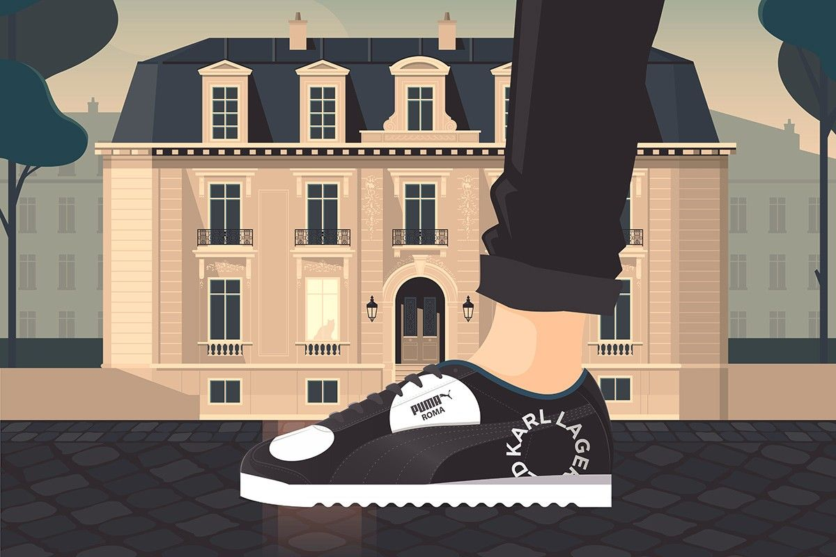 Karl Lagerfeld x PUMA Roma: Official Release Information