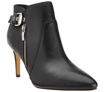 Marc Fisher Leather Pointed Toe Ankle Boots Trinity A269689 Qvc Com Boots Ankle Boots Leather