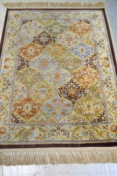 Man Made Silk Rug Verona In