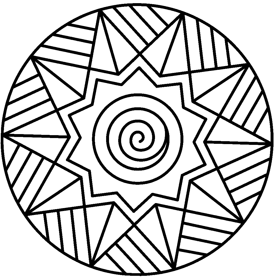 butterfly mandala coloring pages printable picture free abstract rh pinterest com North Star Clip Art Star of David Printable