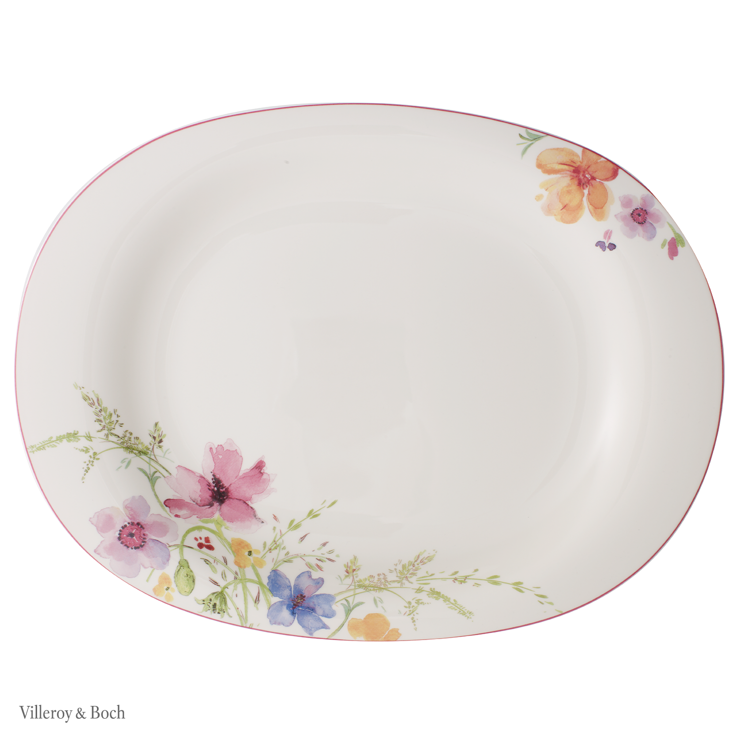 Shop Mariefleur Porcelain Online At Villeroy Boch Create A Sea Of Flowers With This Romantic Floral Tableware Inspired By Nat In 2020 Villeroy Porzellan Servierten