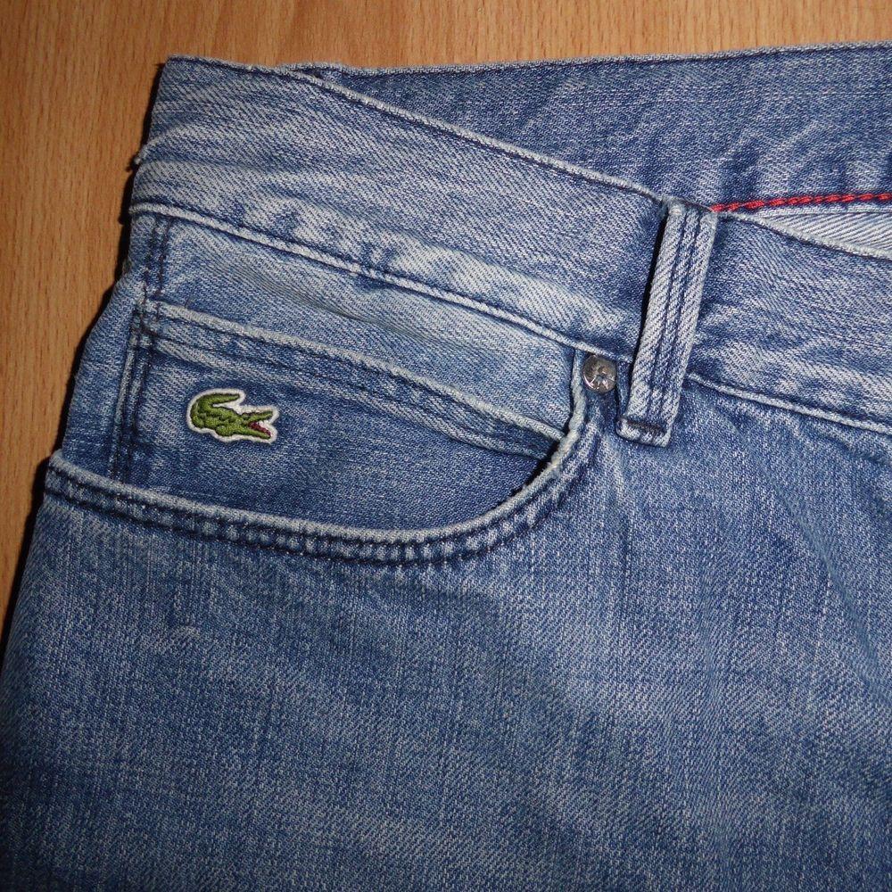Mens Designer Lacoste Live Slim Tapered Blue Stonewashed Denim Jeans W32 L34 Fashion Clothing Shoes Accessories Mensclothin Stone Wash Denim Jeans Lacoste