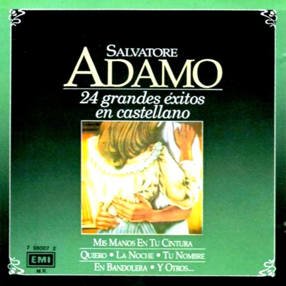 Salvatore Adamo 24 Grandes Exitos En Español 1993 En Castellano Libros De Poesía Castellano