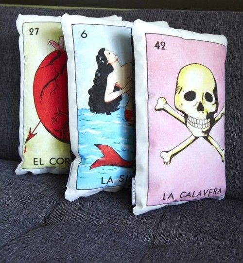 tarot pillows.