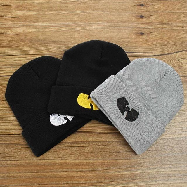 1d9a09031191a Winter WU TANG CLAN Beanie Hats For Women Men