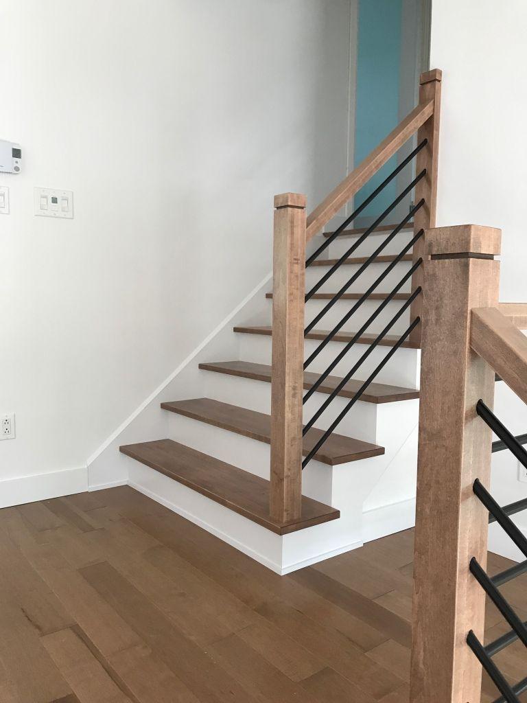 Escaliers Et Planchers En Erable Fait Sur Mesure
