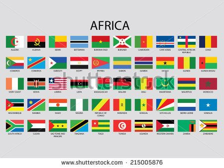 Africa Continent Flag Pack Africa Flag Africa Continent Africa