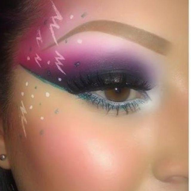 80s makeup   80s Makeup.   Kickin it Old Skool   80s ...