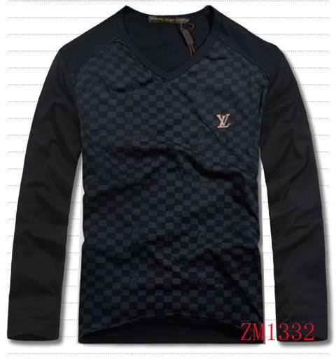 louis vuitton men long sleeve shirt on sale 17. Black Bedroom Furniture Sets. Home Design Ideas