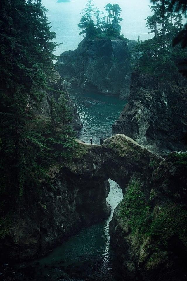 The Natural Bridge, Samuel A. Boardman State Scenic Corridor, Oregon Coast  #Oregon #Travel #LHB #Outdoors #Activities #ideas #thingstodo #Summer #Spring #Fall #Winter #Enjoy #Explore #USA