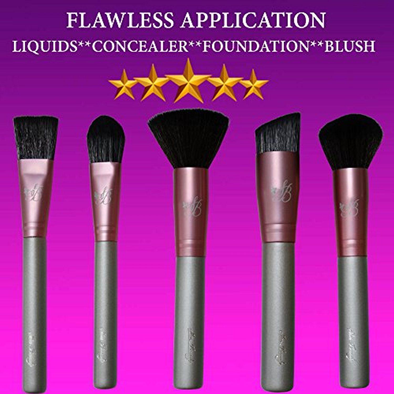 Foundation Kabuki Makeup Brush Set Liquid Foundation Brush