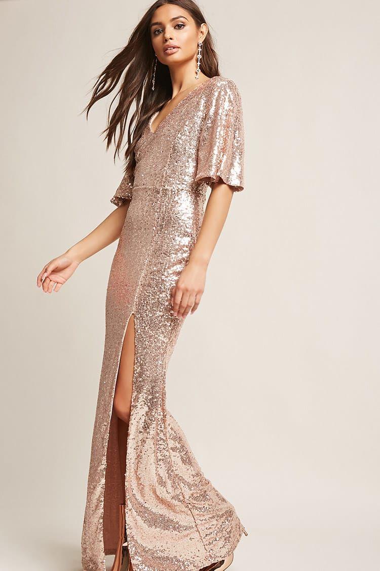 Product namesequin bellsleeve maxi dress categorydress price