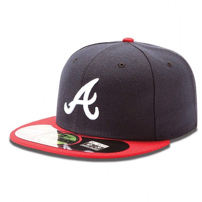 New Era MLB Authentic Atlanta Braves On Field Home 59FIFTY  8223dbb3bb0