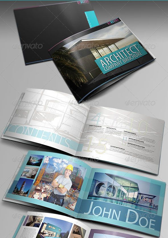 Architecture Brochure Template VerIII Proposals Pinterest